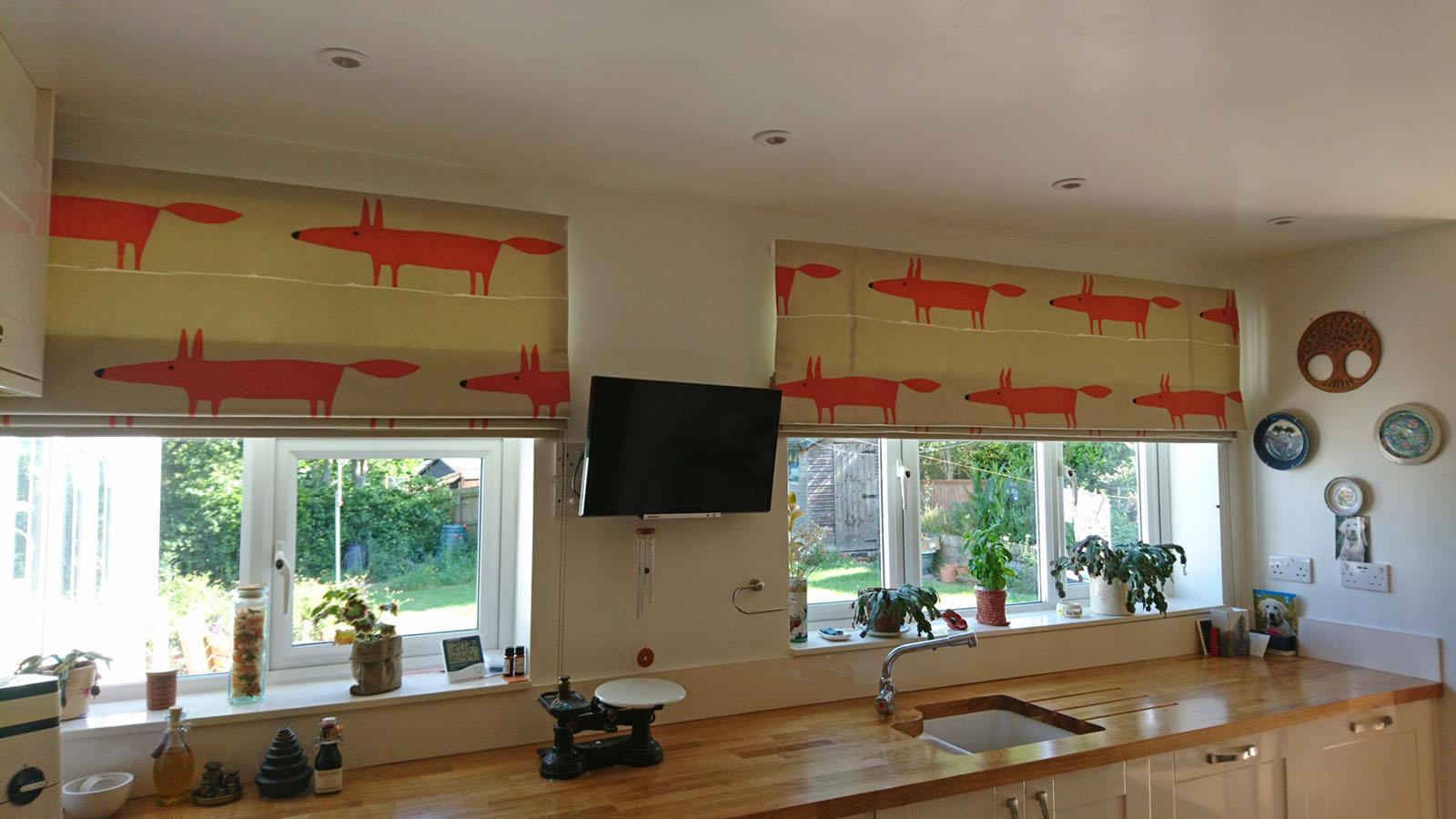 Fox roman blinds